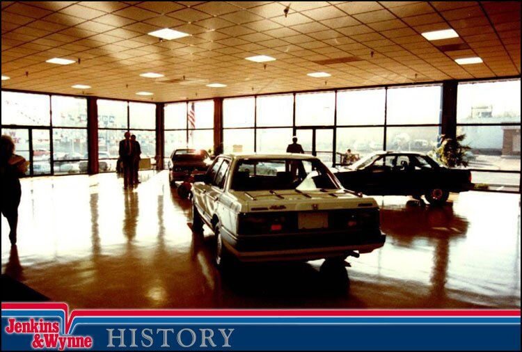 Jenkins and Wynne Honda History