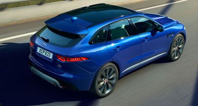 Design of the new Jaguar F-PACE