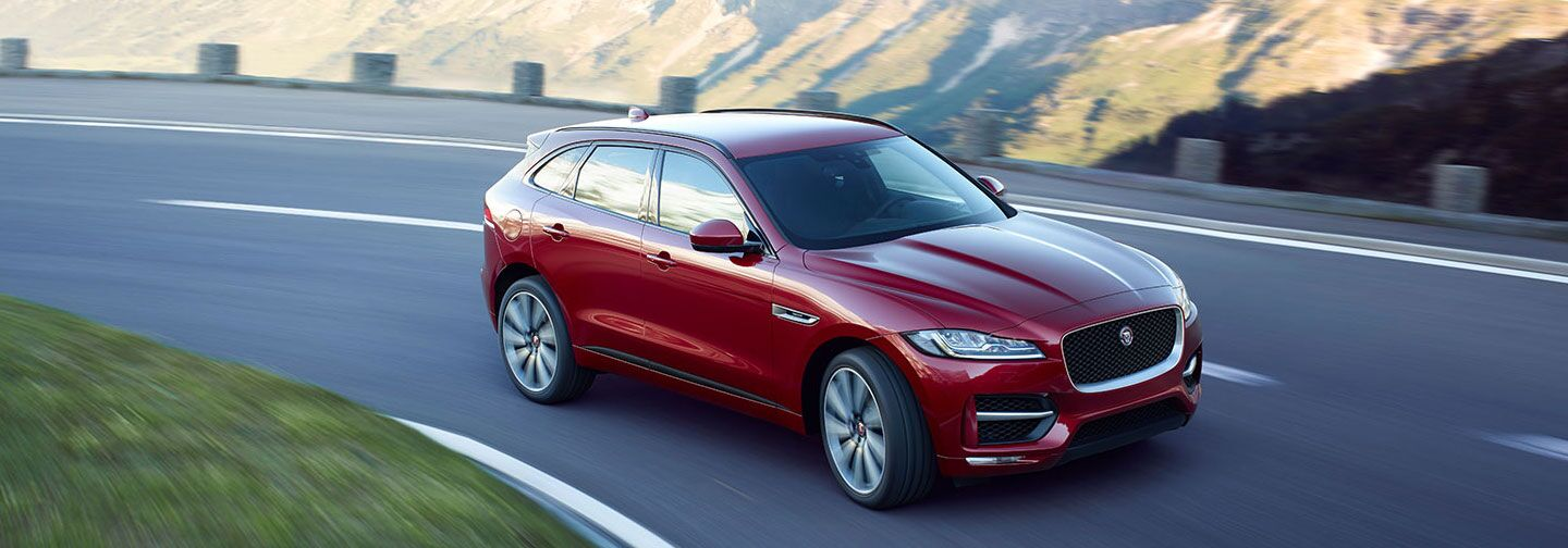 Order your new Jaguar F-PACE at Jaguar Bluff City