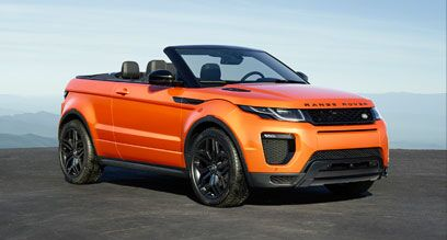 Design of the new Range Rover Evoque