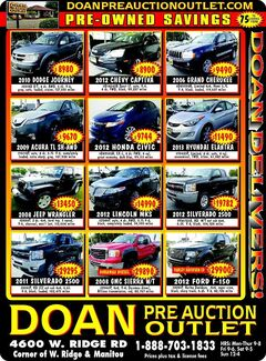 Doan Pre-Auction Outlet