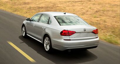 Design of the new Volkswagen Passat