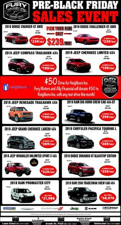 Pre-Black Friday Sales Event
