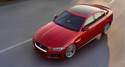 Design of the new Jaguar XE