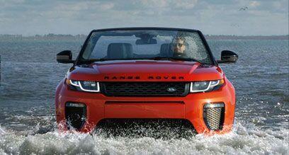 Design of the new Range Rover Evoque