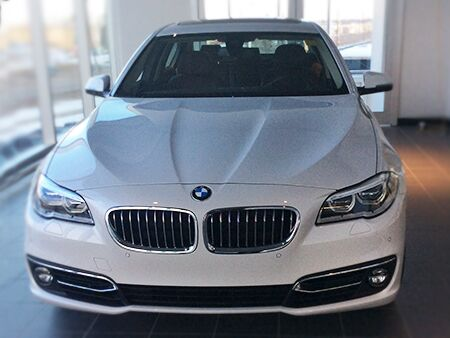 2016_BMW_5_Series_Front_grill