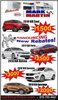 New Rebates