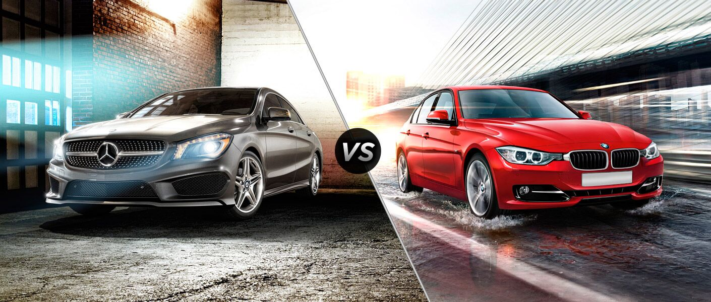 2014 mercedes benz cla vs bmw 3 series