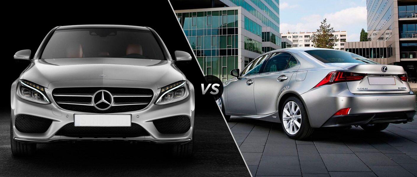 2014 mercedes benz c class vs lexus is for Mercedes benz coupons oil change