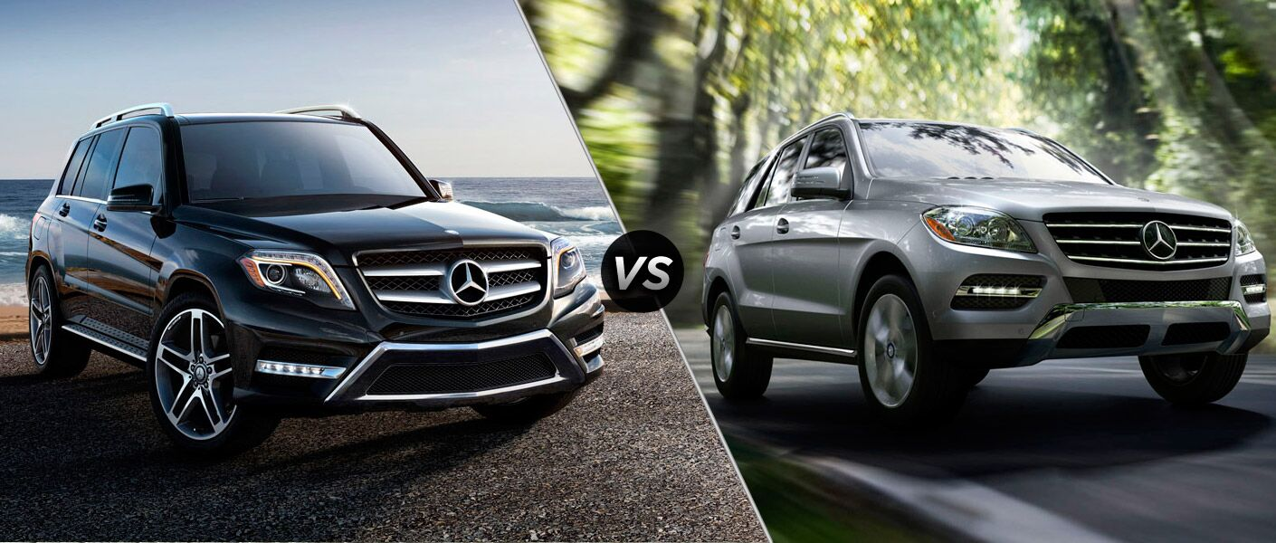 2014 mercedes benz glk350 vs 2014 mercedes benz ml350. Black Bedroom Furniture Sets. Home Design Ideas