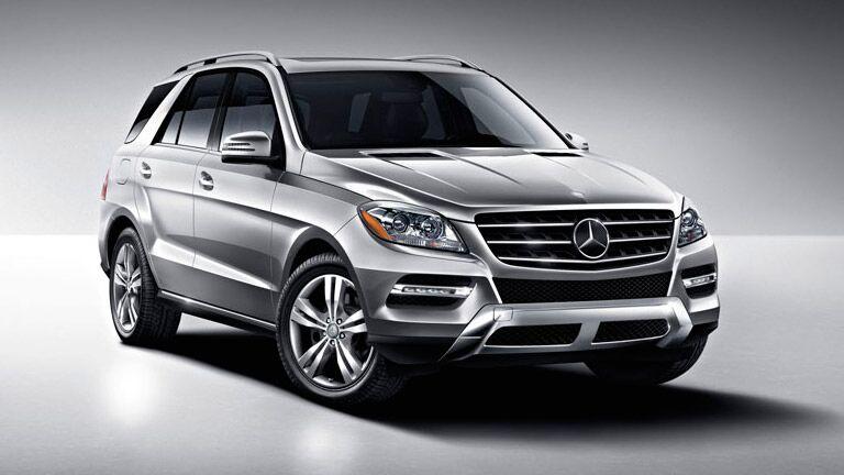 2014 Mercedes Benz Ml350 Vs Bmw X5
