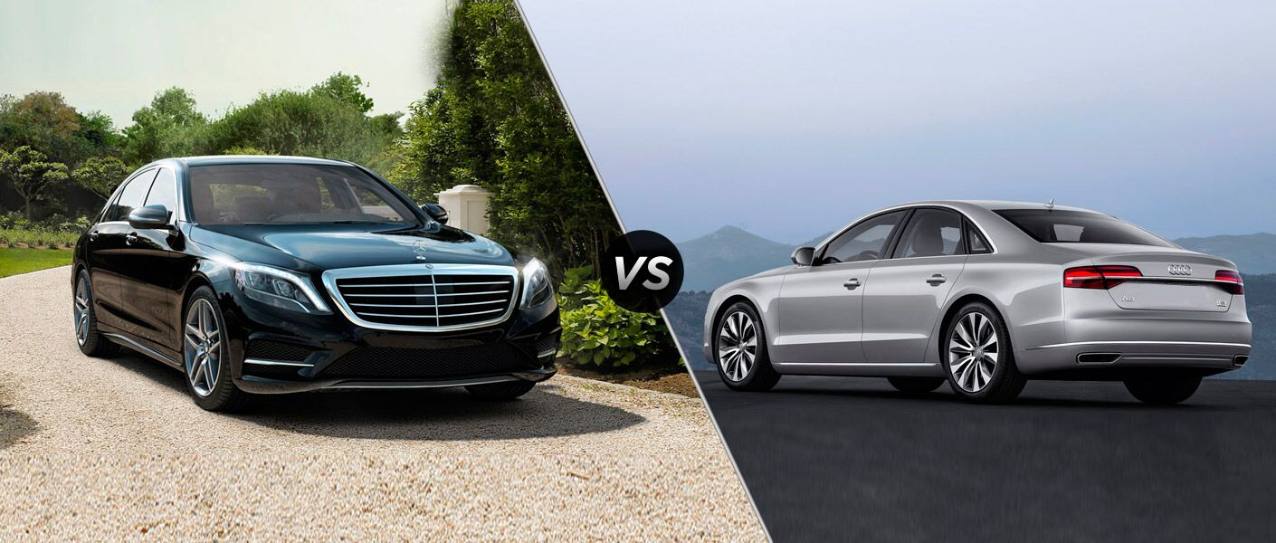 2014 mercedes benz s class vs audi a8 for Mercedes benz s550 oil change