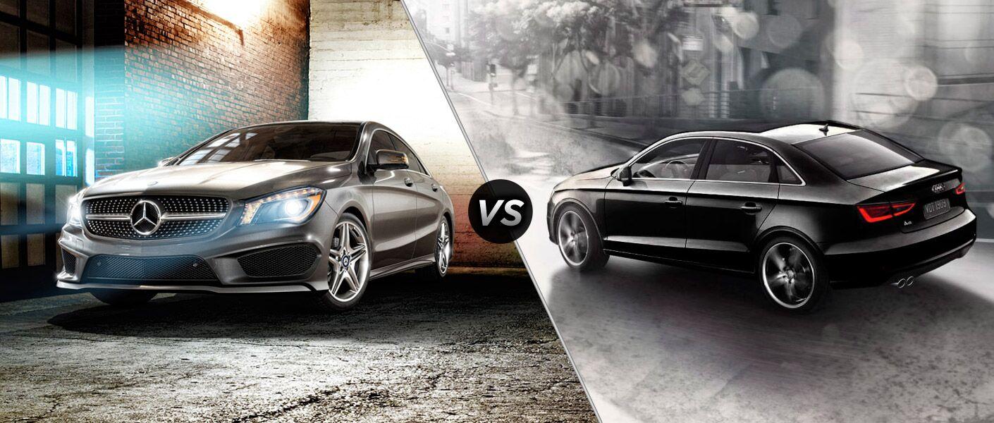 2014 mercedes benz cla vs audi a3 for Mercedes benz a1 service price