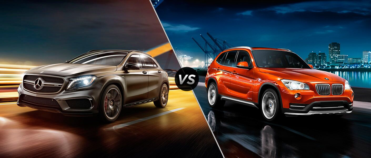 2015 mercedes benz gla vs 2015 bmw x1