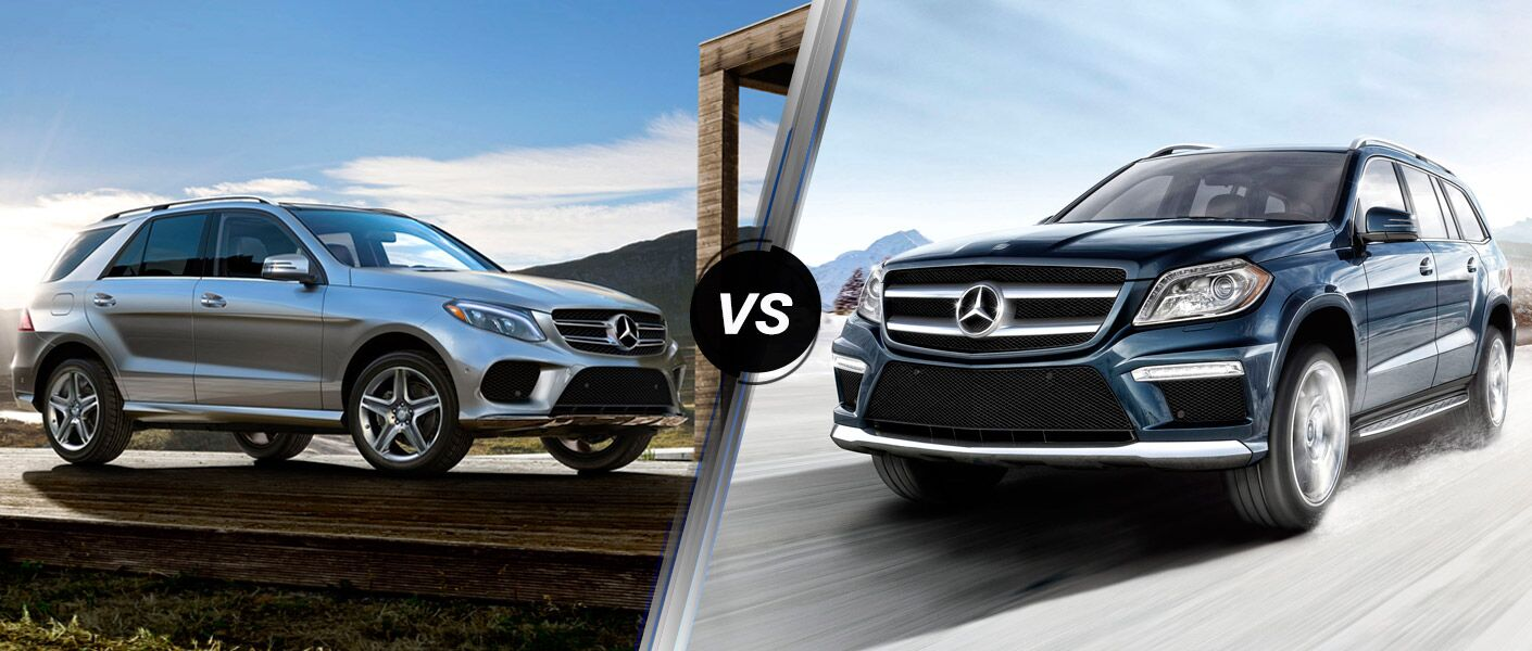 2016 mercedes benz gle vs gl class for Mercedes benz financial services online payment