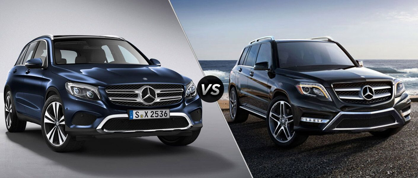 2016 mercedes benz glc vs mercedes benz glk for Mercedes benz glk amg