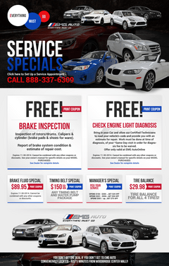 EMG Auto Service Specials
