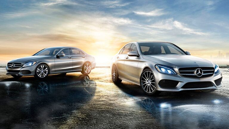 2015 mercedes benz c class vs 2015 bmw 3 series for Mercedes benz c class service b