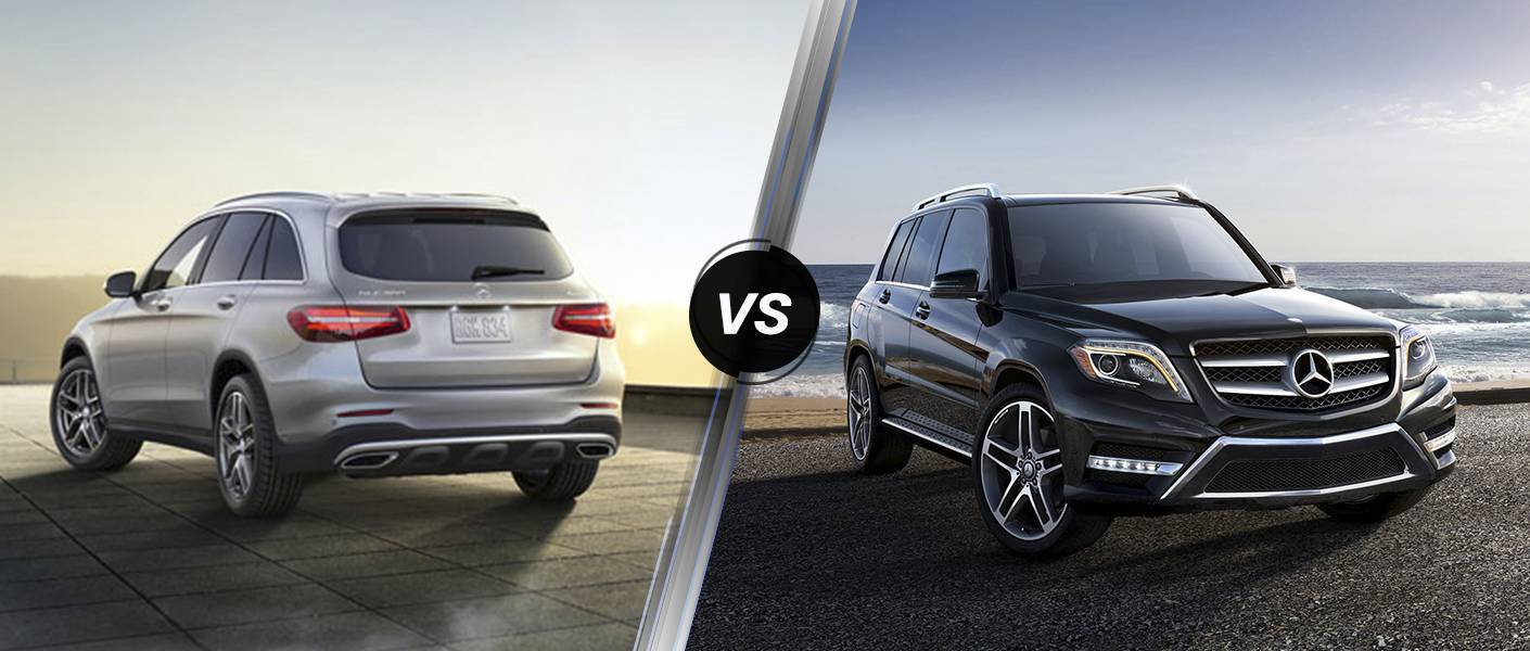 2016 Mercedes-Benz GLC vs. Mercedes-Benz GLK