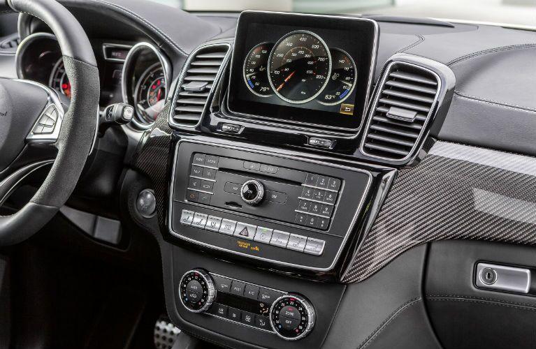 2016 Mercedes-Benz GLE-Class Interior COMAND