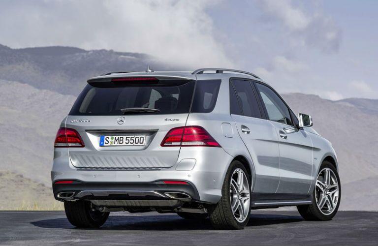 2016 Mercedes-Benz GLE-Class SUV Rear Trunk