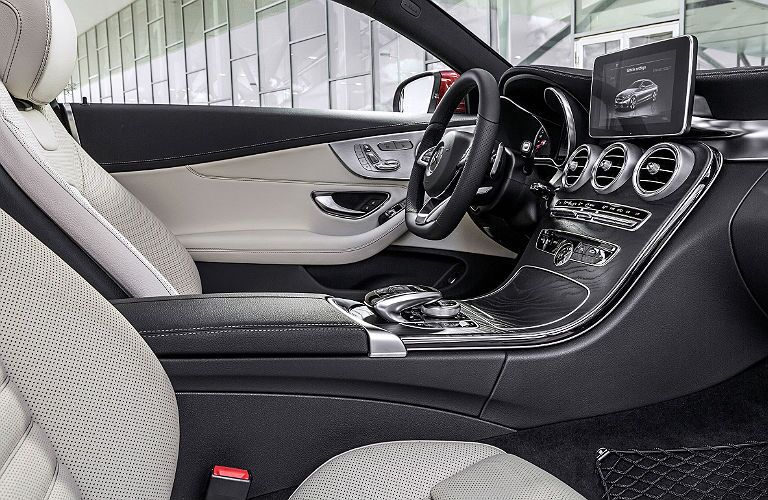 2017 Mercedes-Benz C-Class Coupe interior features