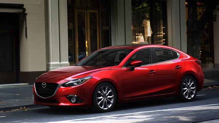 2015 Mazda 3 red