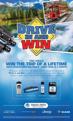 Drive In And Win