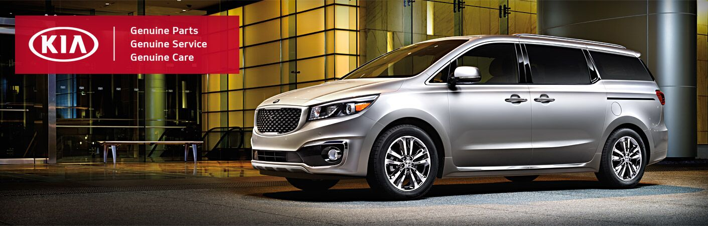 New Kia at Courtesy Kia