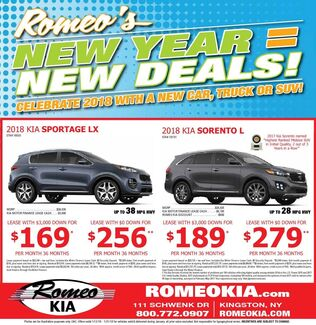 New Year New Deals!