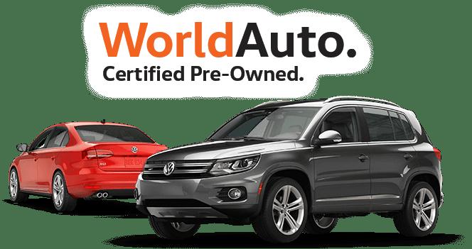 Certified Pre-Owned Volkswagen near Ontario