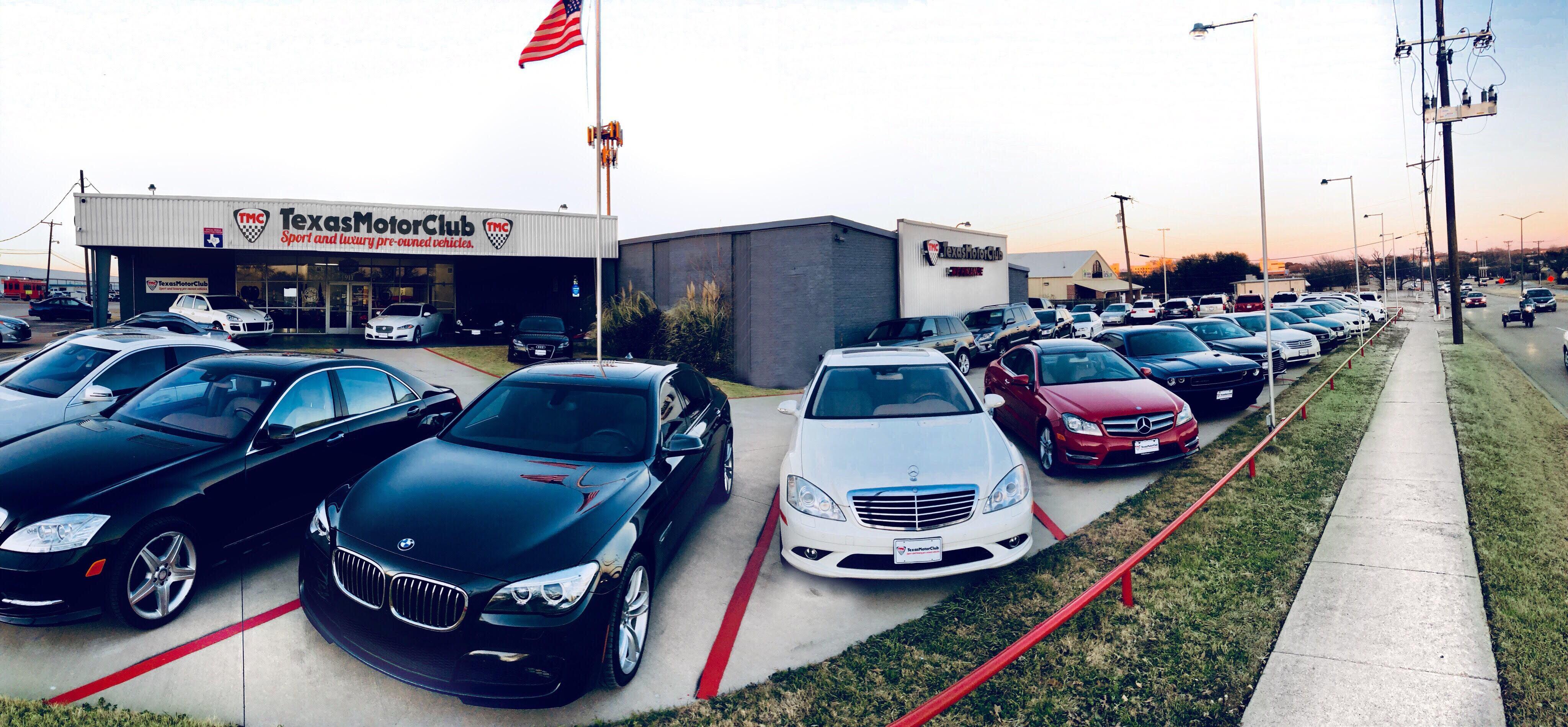 About Texas Motor Club A Arlington Tx Dealership