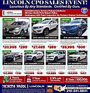 Lincoln CPO Sales Event!