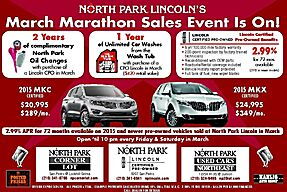 Lincoln CPO Sales Event!