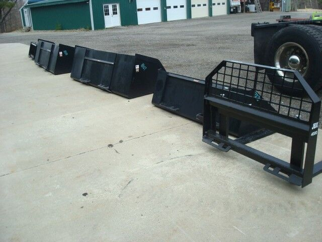 0 Z- Skid Steer Attachments Various items see notes & photos Sabattus ME