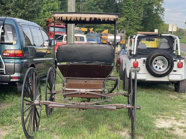 1890 Surrey Buggy Surrey Buggy Horse Drawn Fringe Crozier VA