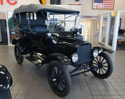 1919_Ford_Model T_Touring_ Fort Worth TX