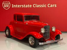 Ford Coupe Red 1932
