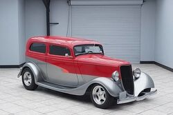 Ford Sedan Hot Rod Auto 302ci Real Steel Car 1934