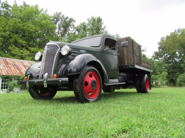 1937 Chevrolet One and a Half Ton 10' Stakebody  Crozier VA