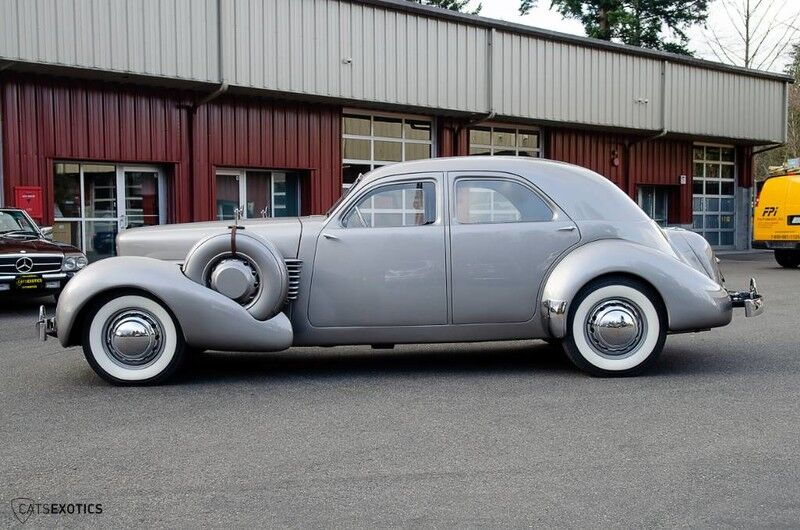 1937 Cord 812 Armored Beverly Seattle WA