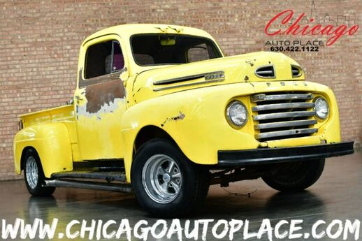 1949 Ford F1 ROLLING CHASSIS + BODY GREAT PROJECT TRUCK Bensenville IL