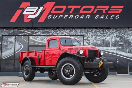 1950 Dodge Power Wagon Fully Restored Tomball TX