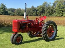 1951_FARMALL International Harvester Mc Cormick_International Harvester McCormick Farmall Super C__ Crozier VA