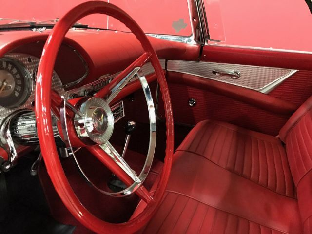 1957 Ford Thunderbird convertible Rockwall TX