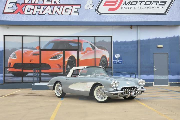 1960 Chevrolet Corvette Roadster 2dr Convertible Tomball TX