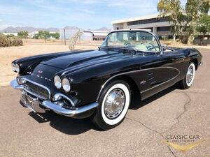 1961_CHEVROLET_Convertible_CORVETTE_ Hickory NC