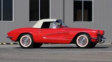 1961_Chevrolet_Corvette_Convertible_ Rockwall TX