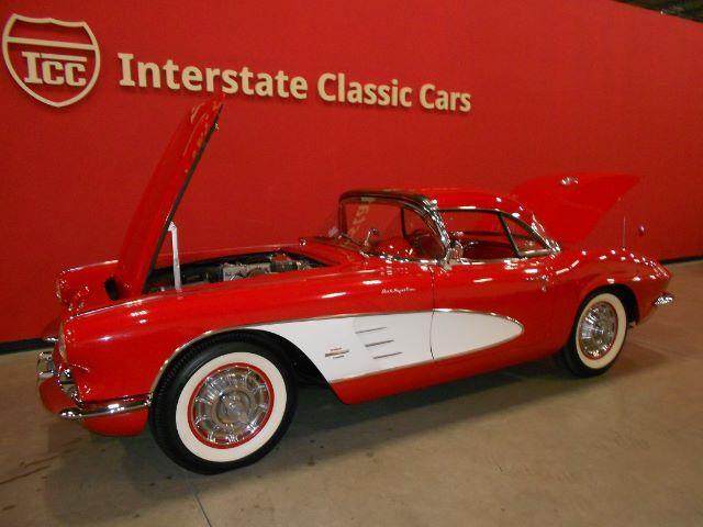 1961 Chevrolet Corvette Fuel-Injected convertible Dallas TX