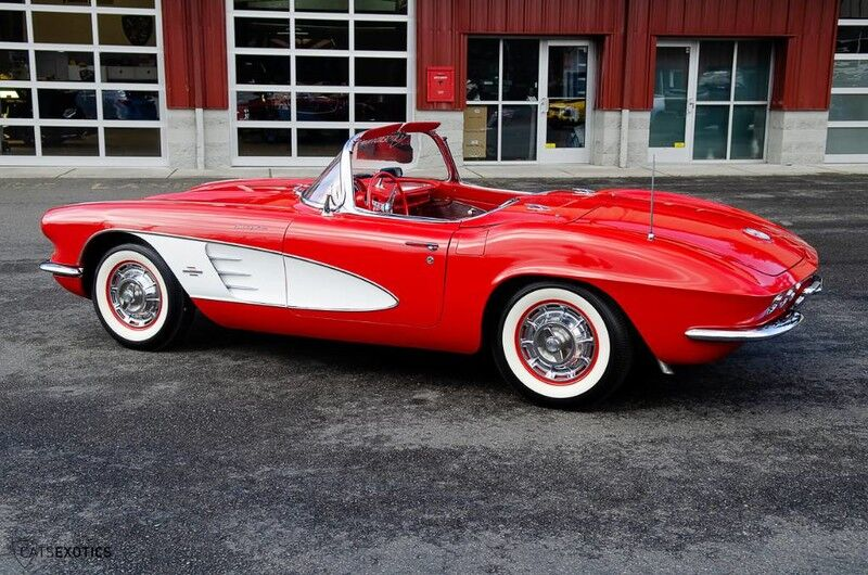 1961 Chevrolet Corvette Fuelie Convertible Seattle WA